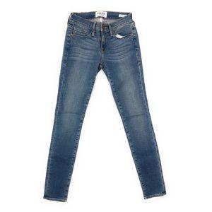 Frame Denim Women's Le Skinny de Jeanne Blue Jeans